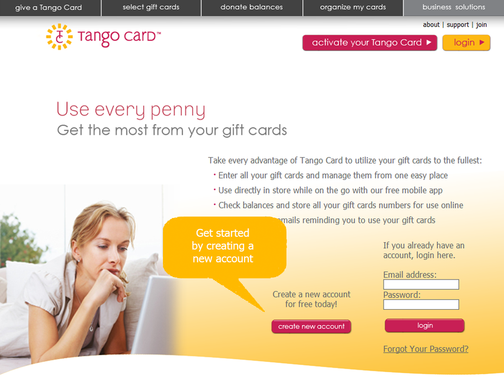 Zendesk Tango Card App Screenshot